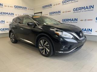 Used 2015 Nissan Murano Platinum- SIÈGES VENTILLÉS- CUIR- GPS- TOIT PANO for sale in St-Raymond, QC