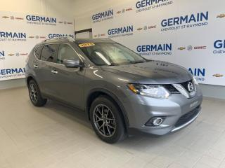Used 2015 Nissan Rogue SL- GPS-CUIT- TOIT PANORAMIQUE- BLUETOOTH for sale in St-Raymond, QC