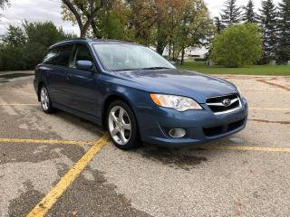 Used 2008 Subaru Legacy 2.5 i Touring Package Alloys / Sunroof / Heated Seats for sale in Winnipeg, MB