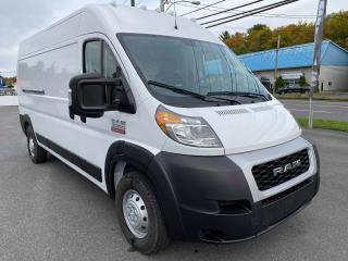 Used 2019 RAM ProMaster High Roof  PDSF  47 740$ for sale in Sorel-Tracy, QC