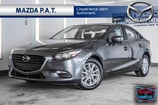Used 2018 Mazda MAZDA3 2018 GS+TOIT+MAG+AUTO+BAS KM+JAMAIS ACCIDENTÉ for sale in Montréal, QC