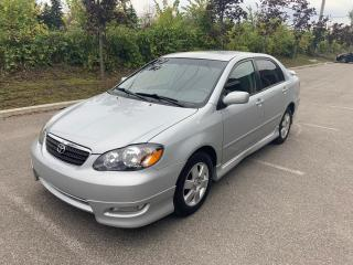 Used 2007 Toyota Corolla sport, boîte automatique for sale in St-Eustache, QC
