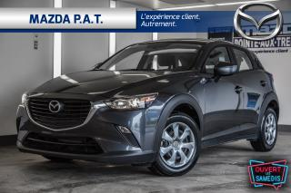 Used 2017 Mazda CX-3 CX-3 2017+BLUETOOTH+CAMERA DE RECUL+BAS KM for sale in Montréal, QC