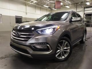 Used 2017 Hyundai Santa Fe SPORT LIMITED 2.0T/AWD/CUIR/NAV/TOIT PANO for sale in Blainville, QC