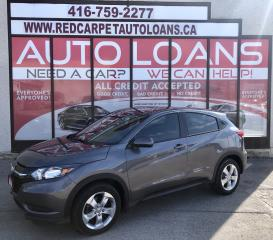 Used 2016 Honda HR-V LX-ALL CREDIT ACCEPTED for sale in Scarborough, ON
