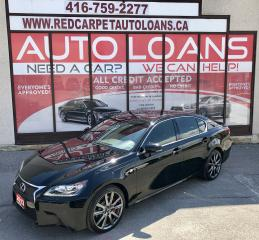 Used 2013 Lexus GS 350 F Sport - All Credit Approved for sale in Scarborough, ON