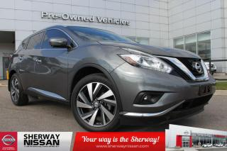 Used 2015 Nissan Murano Murano platinum with only 48000kms. Clean carfax, nissan certified preowned! for sale in Toronto, ON