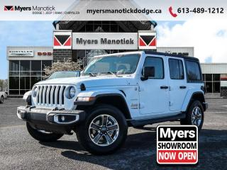New 2020 Jeep Wrangler Unlimited Sahara  -  Android Auto - $324 B/W for sale in Ottawa, ON