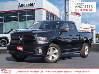 Used 2016 RAM 1500 SPORT - BLUETOOTH|TONNEAU|SPORT HOOD|RUNNING BOARDS for sale in Ancaster, ON