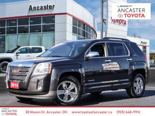 Used 2014 GMC Terrain SLT-1 - 1 OWNER|LEATHER|CHROME WHEELS for sale in Ancaster, ON