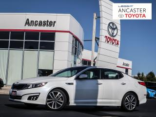 Used 2015 Kia Optima SX - BLUETOOTH|CAMERA|SUNROOF|COOLED SEATS for sale in Ancaster, ON