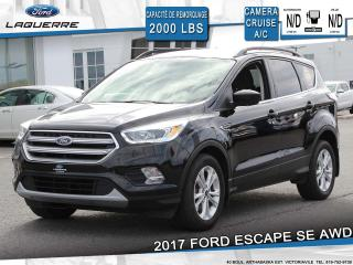 Used 2017 Ford Escape SE AWD** CAMERA*BLUETOOTH*CRUISE*A/C** for sale in Victoriaville, QC