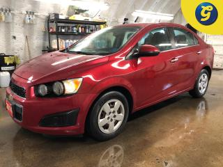 Used 2014 Chevrolet Sonic LT * Remote start * 6 Spd automatic * On Star * Oil life monitor * Traction control * Electronic stability control * Chrome exterior accents * Heated for sale in Cambridge, ON