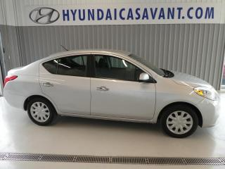 Used 2012 Nissan Versa SV for sale in St-Hyacinthe, QC