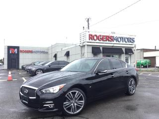 Used 2015 Infiniti Q50 LTD AWD - NAVI - 360 CAMERA - SUNROOF for sale in Oakville, ON