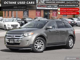 Used 2013 Ford Edge Limited NAVIGATION - BACKUP CAMERA - LEATHER for sale in Scarborough, ON