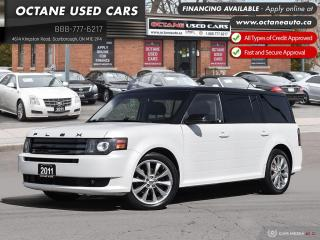Used 2011 Ford Flex Limited Accident Free! Warranty! for sale in Scarborough, ON