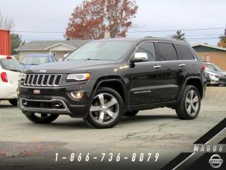 Used 2014 Jeep Grand Cherokee OVERLAND + DIESEL + TECH PACK + NAVI! for sale in Magog, QC