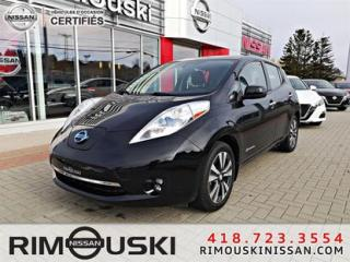 Used 2015 Nissan Leaf 4dr HB SL **SOH 93.21%** for sale in Rimouski, QC