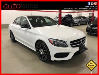 Used 2016 Mercedes-Benz C-Class C300 4MATIC NIGHT SPORT PREMIUM 19'S ! for sale in Vaughan, ON
