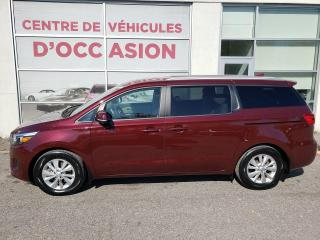 Used 2017 Kia Sedona LX 8 PLACES SEULEMENT 39,180 KMS, 8 PLACES for sale in Montréal, QC