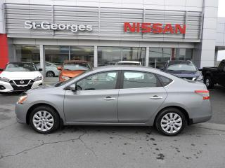 Used 2013 Nissan Sentra Berline 4 portes CVT S for sale in St-Georges, QC