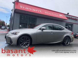 Used 2018 Lexus IS 300, FSport, Heated/Cooled Seats, Backup Cam!! for sale in Surrey, BC