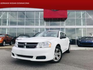 Used 2013 Dodge Avenger SE AUTO *** 44$ / SEMAINE *** GARANTIE INCLUS for sale in Donnacona, QC