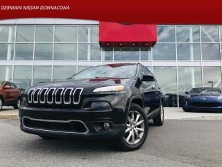 Used 2016 Jeep Cherokee LIMITÉE *** 92$ / SEMAINE *** GARANTIE INCLUS for sale in Donnacona, QC