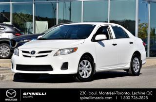 Used 2011 Toyota Corolla CE TOYOTA COROLLA 2011 for sale in Lachine, QC
