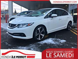 Used 2015 Honda Civic Si, MANUELLE. TOIT OUVRANT,MAGS GPS CIVIC SI , MANUELLE , BLUETOOTH, CAMERA,GPS, TOIT , BOUTON DEMARRAGE , PRIX COMPÉTITIF ! A QUI for sale in Île-Perrot, QC