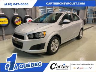 Used 2012 Chevrolet Sonic SEDAN * A/C * PNEUS HIVER * for sale in Québec, QC