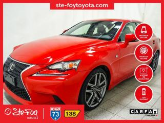 Used 2016 Lexus IS 300 F3 SPORT AWD Cuir,Navigation Toit ouvrant for sale in Québec, QC