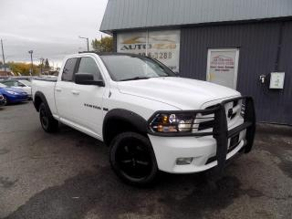 Used 2011 Dodge Ram 1500 ***SPORT,4X4,QUADCAB,CUIR,MAGS,A/C*** for sale in Longueuil, QC
