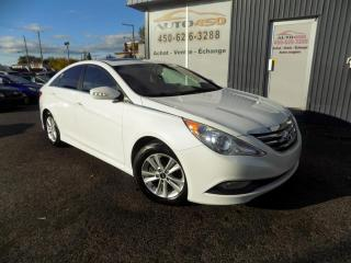 Used 2014 Hyundai Sonata ***GLS,AUTOMATIQUE,TOIT,MAGS,A/C*** for sale in Longueuil, QC