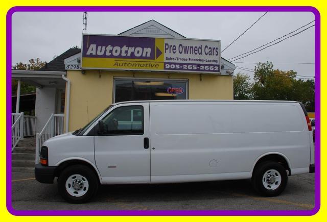 2012 Chevrolet Express 3500 1 Ton EXT. Cargo Van, Diesel