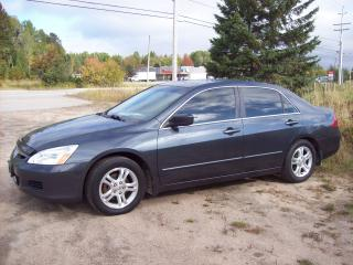 Used 2007 Honda Accord EX-L for sale in Sundridge, ON