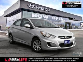 Used 2014 Hyundai Accent GL  - $48.37 /Wk for sale in Nepean, ON