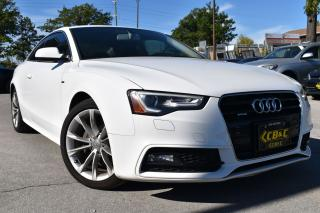 Used 2016 Audi A5 S-LINE - NO ACCIDENTS - CERTIFIED for sale in Oakville, ON