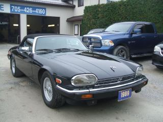 Used 1989 Jaguar XJS V 12, Convertible , Only 66,326km for sale in Beaverton, ON