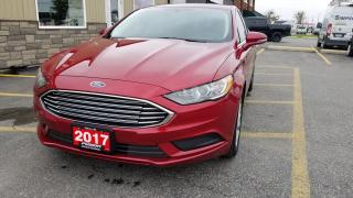 Used 2017 Ford Fusion SE-REMOTE START-HEATED SEATS-REAR CAMERA & SENSORS for sale in Tilbury, ON
