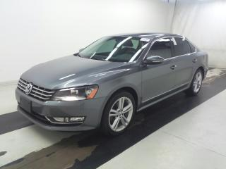 Used 2012 Volkswagen Passat HIGHLINE - TDI -CERTIFIED- NO ACCIDENTS for sale in Oakville, ON