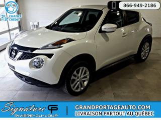 Used 2016 Nissan Juke SV AWD CVT ***Jamais Accidenté*** for sale in Rivière-Du-Loup, QC