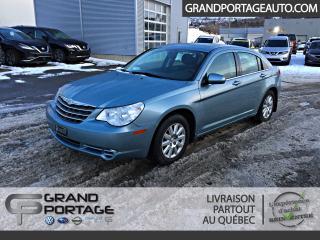 Used 2009 Chrysler Sebring *BAS KILO*Berline* LX * for sale in Rivière-Du-Loup, QC