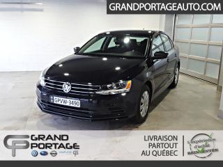 Used 2015 Volkswagen Jetta Trendline 2.0L Manuelle *Très bas km* for sale in Rivière-Du-Loup, QC