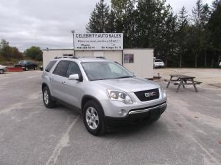 Used 2010 GMC Acadia AWD SLE for sale in Elmvale, ON