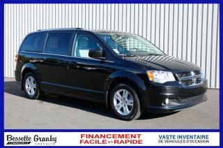 Used 2019 Dodge Grand Caravan Crew Plus-Navigation-Dvd++ for sale in Cowansville, QC
