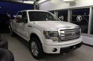 Used 2013 Ford F-150 PLATINUM CREW CAB 4X4 TOIT GPS CUIR for sale in Lévis, QC