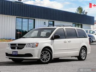 Used 2013 Dodge Grand Caravan SXT,DVD,R/V CAM,B.TOOTH,STOW-N-GO for sale in Barrie, ON