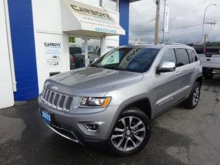 Used 2015 Jeep Grand Cherokee Limited 4WD, Nav, Sunroof, Leather, Camera!! for sale in Langley, BC